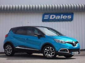 Renault Captur 0.9 Dynamique S Medianav 5Dr Hatchback Petrol (blue/black) 2014