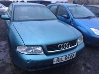 1999 Audi a4, 1.9 diesel, breaking for parts only, all parts available