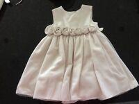 Flower girl/Christening dress & cardigan age 3-6 months