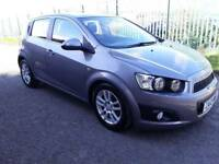 CHEVROLET AVEO 2012, 1.3, PSH+LOW MILEAGE+ NEW MOT, cheap insurance and road Tax.