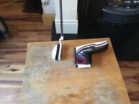 New odyssey mallet putter for sale