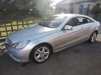 2011 Mercedes-Benz E Class 2.1 E250 CDI BlueEFFICIENCY SE 2dr