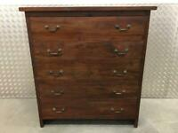 Lombok Solid reclaimed Teak Large Chest of Drawers dresser Laura Ashley John Lewis habitat Kitchen