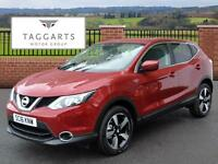 Nissan Qashqai DCI ACENTA (red) 2016-04-30