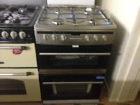 Steel finish 60cm gas cooker