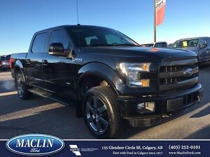 2016 Ford F-150 Lariat, Hot/Cold Leather, Nav, Pano Roof