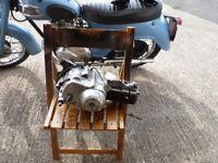 HONDA C90 engine.1990