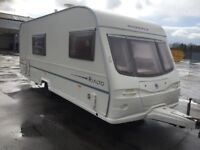 Trade two clear Avondale Rialto 2004 4 berth side dinette end washroom hot and cold running water