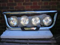 chrome truck lightbar with spotlights used