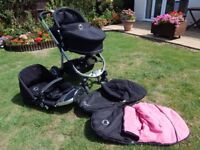 I Candy Apple push chair/ Carry cot Combo travel system.