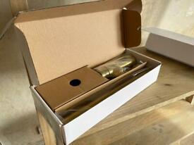 Victorian Plumbing Arezzo Brushed Brass Round Basin Bottle Trap