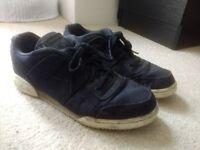 Mens Trainers - Asics Gel Lyte Blue & Reebok Cordura Black - Both Size 9