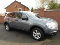 2007 nissan qashqai{parking sensors,bluetooth,towbar}finance/warranty ava