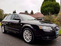 Audi A4 AVANT TDI SE 2005 (55) *FACELIFT* *PHANTOM BLACK* s line, a6, bmw 320d touring px/swap