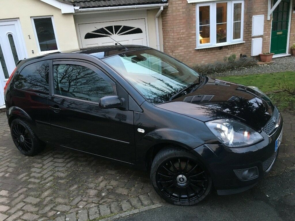2007 Ford Fiesta Zetec Climate 125 17 Black Alloys Window Tint 2012 Focus Tinted Windows Wind Deflectors