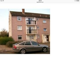 2 bedroom 1st floor flat to rent all white goods included