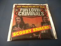 FUN LOVIN CRIMINALS - SCOOBY SNACKS CD SINGLE (IN FOIL PACKET - UNOPENED)