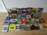 29 steam train / steam railway books