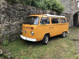 "VW T2 1584cc Right hand drive 1978 ""S"" registered campervan"