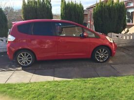 Honda Jazz 1.4 FSH, 81000 miles, Mot till August, Lots of extras. Please get in touch for more info