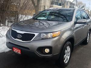 2012 Kia Sorento LX AUTO LOADED BLUETOOTH LOWKMS CERTIFIED $9975