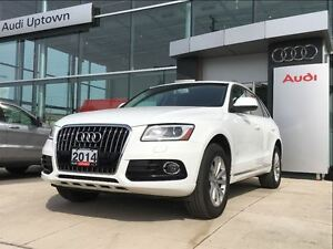 2014 Audi Q5 2.0 Progressiv W/ PANORAMIC ROOF