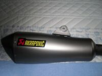 AKRAPOVIC EXHAUST FOR BMW 1200RT