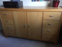 Next sideboard and dining room table - £79 (was £800 new)