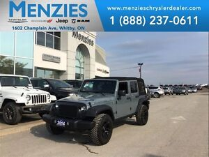 2014 Jeep WRANGLER UNLIMITED Rubicon, Nav, Leather, Bluetooth, C