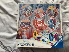 Disney frozen 6 in 1 board games