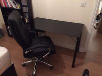 Texas High Back Office Chair - Black.