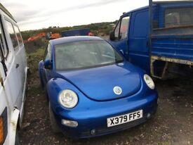 Volkswagen Beetle spare parts availble bumper bonnet wing light radiator door