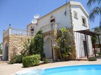 Traditional Villa Sofia, Cyprus, Famagusta district, Vrysoulles with swimmimg pool and free internet
