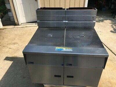 Pitco Frialator Sg18-s Deep Fryer Series G02md033237