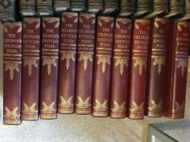 1-10 The Children's Encyclopedia (Arthur Mee) Good Condition Vintage Books
