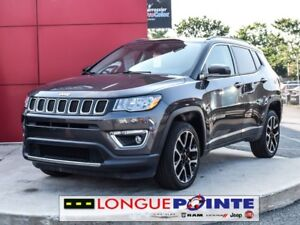 2017 Jeep Compass 4WD 4dr Limited