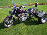 Honda shadow 1100 trike