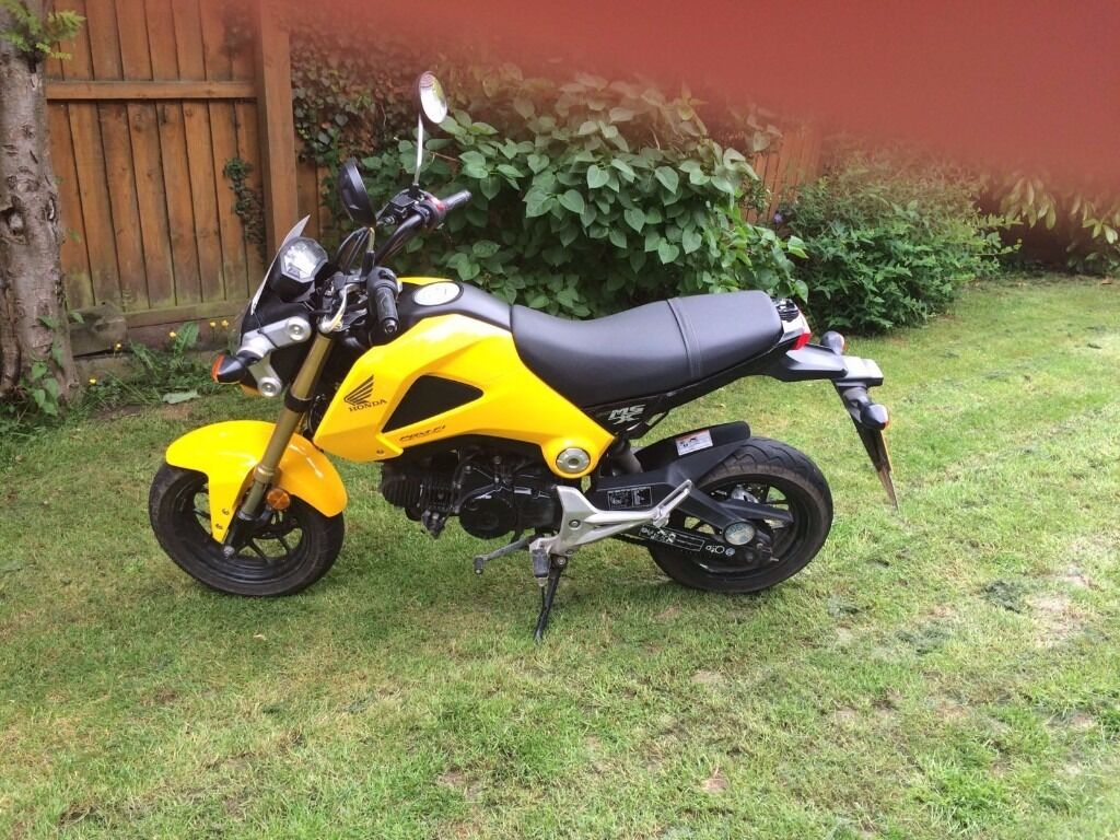 honda msx 125 yellow in chelmsford essex gumtree. Black Bedroom Furniture Sets. Home Design Ideas