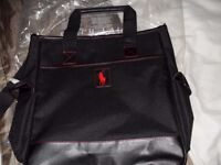 genuine ralph lauren messenger bag