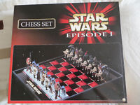 Star Wars Episode 1 Chess Set.