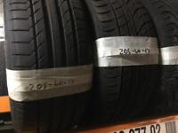 205/40/17 PART WORN TYRES ** FREE FITTING AND BALANCING **