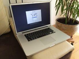Macbook Pro 17inch i7, 16GB Ram, 500GBSSD Late 2011