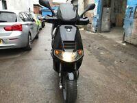 PIAGGIO SKIPPER 125cc Black 2005 not Vespa super low mileage hpi clear!!