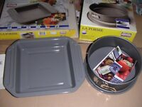 New Kaiser La Forme Cake Tin & Small Baking Roasting Tin - Made in Germany rrp £40+