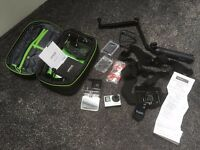 GoPro Hero 4 Silver Edition used twice + sim card + accesories