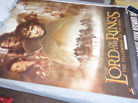 LORD OF THE RINGS RARE GIANT ORIGANAL POSTER FELLOWSHIP