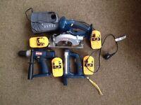 Ryobi Cordless Power Tool Set Bundle