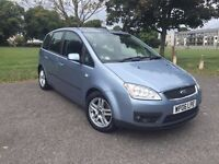 Ford Focus C-Max for Sale - New MOT- Service History- Tow Bar