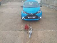 TOYOTA AYGO (FITTED TOW A FRAME) X-CITE 2 AUTOMATIC