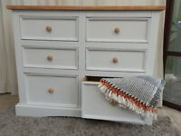 6 Drawer Wide Chest of Drawers